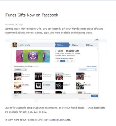 fcbk itunes gifts